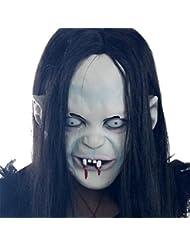 MissFox Halloween Fiesta Sadako Cosplay Disfraz Terrorista Máscara Como Cuadro