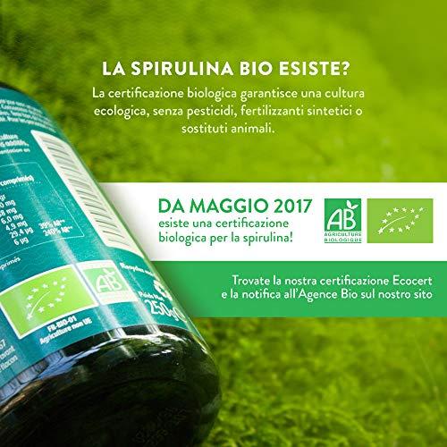 Zoom IMG-3 spirulina biologica 500 compresse bio