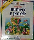 Clementoni I Libri di SAPIENTINO Scoprire Numeri E Parole da 5 A 7 Anni Vintage