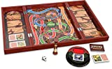 CARDINAL GAMES- Deluxe Wood Jumanji-Classic Retro '90s Game, Multicolore, 6045571