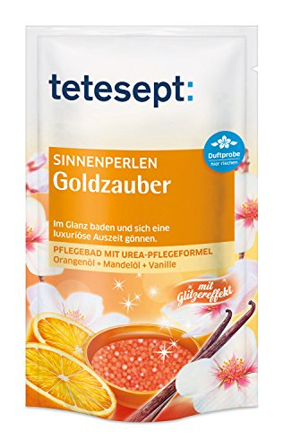 Scopri offerta per Tetesept 40375 Sinnen Perlen - Bagno Perla - Golden Magic - 6 Pack (6 x 80 gr)