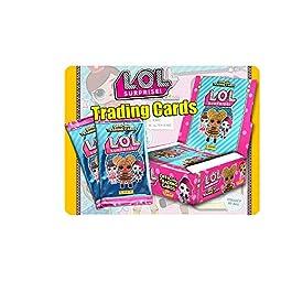 Panini- Boîte de 24 Pochettes LOL Training Cards, 2504-004, Coloré