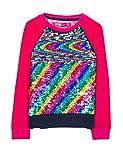 Desigual Mädchen Sweatshirt Sweat_EPICURO, Rosa (Fuchsia Rose 3022), 152 (Herstellergröße: 11/12)