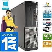 Dell PC 3010 DT Intel G2020 Ram 4Go Disque 500 Go WiFi W7 (Reconditionné Certifié Grade A)