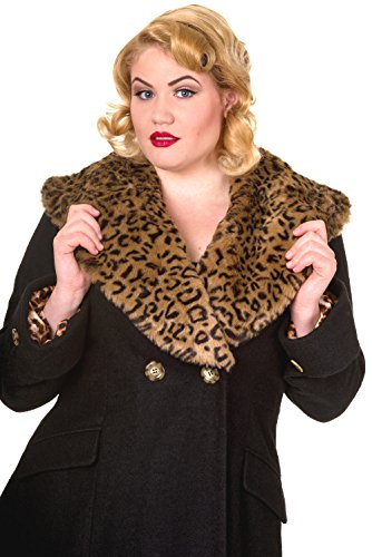Banned Vintage PLUS SIZE Coat - Black or Red / 2XL-4XL Rot