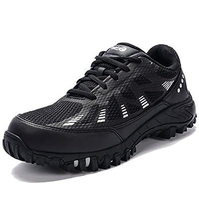 AILU Arbeitsschuhe Herren Leicht Sportlich Stahlkappen Schuhe Sommer Sicherheitsschuhe Kevlar Zwischensohle