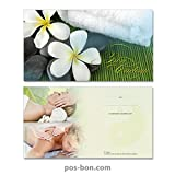 50 Bons cadeaux pour instituts de massage MA1227F