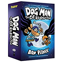 Dog Man: The Cat Kid Collection #4-6 Boxed Set