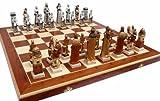ChessEbook Exclusives Schachspiel GRUNWALD, 60 x 60 cm Handbemalt Marmor