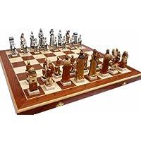 ChessEbook-Exclusives-Schachspiel-GRUNWALD-60-x-60-cm-Handbemalt-Marmor