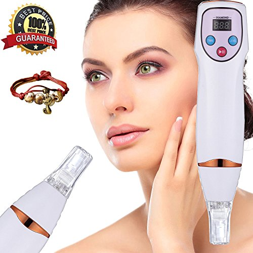 [neue Version 2017] TZLong Portable Diamond Microdermabrason Dermabrasion Skin Care Vakuum Massage Beauty-Equipment, Peeling und reoberflächen der Haut