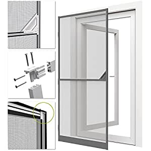 Easy life proline moustiquaire de porte porte for Nettoyer fenetre aluminium