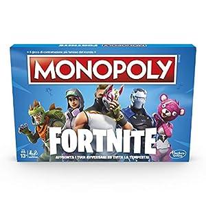 Hasbro Monopoly fortnite Juego, Versión en Italiano