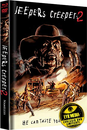 Jeepers Creepers 2 - Limited Collector's Edition - Mediabook - Limitiert auf 333, Cover B (+ DVD) [Blu-ray]