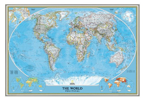 national-geographic-pinboard-world-political-map-classic-style-silver-aluminium-frame
