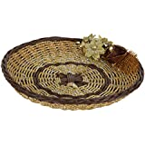 PAISLEYS Curvo Fancy Gifting Basket Brown and Golden
