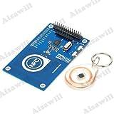 Asiawill ® 13,56 MHz PN532 bord antenne NFC Module de carte à puce RFID pour Arduino/Compatible avec Raspberry Pi