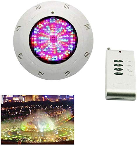 Nfudishpu Pool Lighting LED 18W RGB Iluminación subacuática LED Waterproof IP68 Pool Led Lighting...