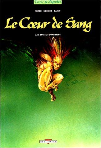 Le coeur de sang, Tome 2 : Le bracelet d'Angrbode par Isabelle Mercier