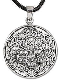 Anhänger Blume des Lebens Amulett Talisman Silber etNox - Harmonie - 5621