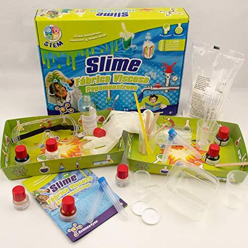 Imagen 1 de Science4you Fábrica de los pegamonstruos - Slime - Juguete científico y educativo