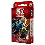 Image for board game Wydawnictwo Portal POP00368 51St State Scavengers Board Game