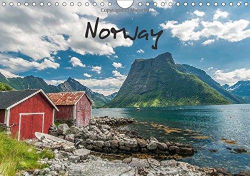 Norway / UK-Version (Wall Calendar 2018 DIN A4 Landscape): Norway`s impressive landscapes (Monthly calendar, 14 pages ) (Calvendo Places) [Kalender] [Apr 01, 2017] Burri, Roman