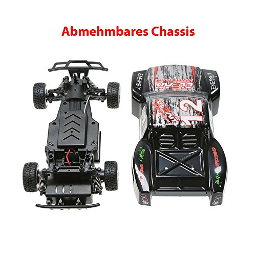 RC Auto kaufen Short Course Truck Bild 3: HSP Himoto 1 24 Off Road 2WD Mini RC ferngesteuertes High Speed Short Course Monstertruck Buggy, 2 4GHz Digital vollproportionale Steuerung Top Speed bis zu 25 km h, Komplett Set RTR*