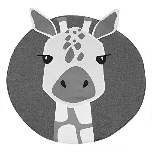 90 cm Baby Giraffe kriechende Decke, Giraffe Muster Baumwolle Baby Kleinkind Spielmatte Kissen Zimmer Dekor Kleinkind Kissen krabbeln Decke für Kinder