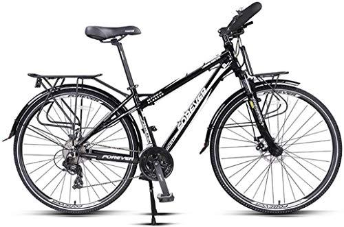 FEE-ZC Universal City Bike 24-Gang Pendler Fahrrad Aluminiumlegierung Bremse für Unisex Erwachsene