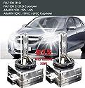 2x Stück D1S Xenon Brenner 6000K 35 Watt PK32d-2 85V Xenonbrenner Autolampe Birne HID Entladungslampe Ersatzlampe Scheinwerfer Scheinwerferlampe für Abblendlicht / Fernlicht INION®