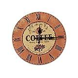 Elegante salotto orologio bar orologio muro orologio da parete in legno di quarzo una varietà di opzioni , 009