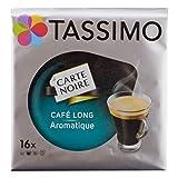 Tassimo Carte Noire Cafe Long Aromatique / Voluptuoso Kenya, Zart-Fruchtig, Kaffee, Kaffeekapsel, gemahlener Röstkaffee, 16 T-Discs