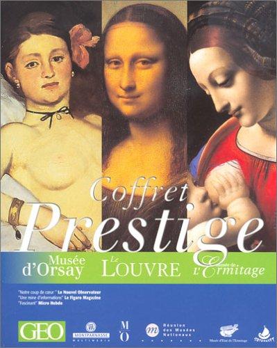 Coffret Prestige 3 Musées : Le Louvre, Orsay, L'Ermitage