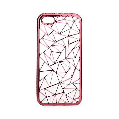 handy-point Glitzer Jelly Case Bling Glitter Glanz Sparkle Back Cover Schutzhülle Schale Gummihülle Gummi Slikonhülle Silikon Hülle für iPhone (Für iPhone 6 / iPhone 6S, Schwarz) Rosa