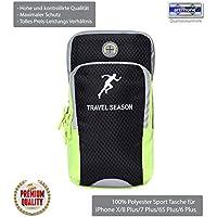 Multifunzione Sport con Fascia da braccio per iPhone e telefoni cellulari fino a 5.8pollici, von ArtPhone