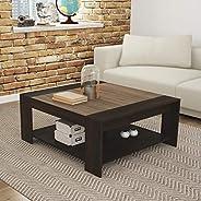 Tecnomobili Coffee Table, Tobacco/Almond, 45 x 90 x 100 cm