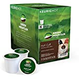 Keurig, Green Mountain Coffee, Half-Caff, 24 K-Cup Packs for Keurig Brewing System
