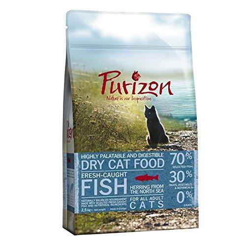 Purizon Premium Trockenfutter für Katzen–Fisch (6,5kg)