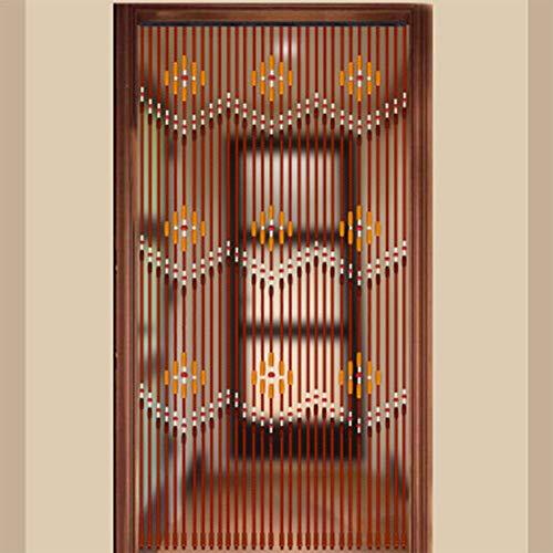 funnyfeng Holzperlenvorhang, Umweltfreundlich, Ungiftig, Kein Geruch, Halten Unabhängigen Raum, Glatt Und Langlebig, Geeignet Für Wohnzimmer Schlafzimmer Badezimmer Eingangshalle