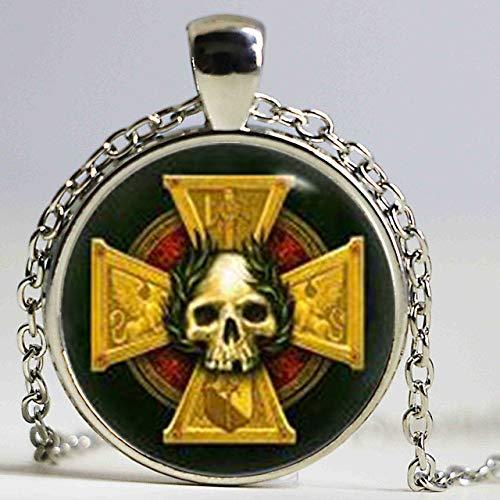 Inspiriert Kunst Kostüm - DADATU Halsketten für Herren Empire Insignia Inspiriert Halskette, Warhammer Anhänger, Warhammer Halskette, Kunst Geschenke, Für Sie, Für Ihn