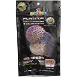 Okiko Platinum Head Huncher and Colour Faster Flower Horn Fish Food, 100 g