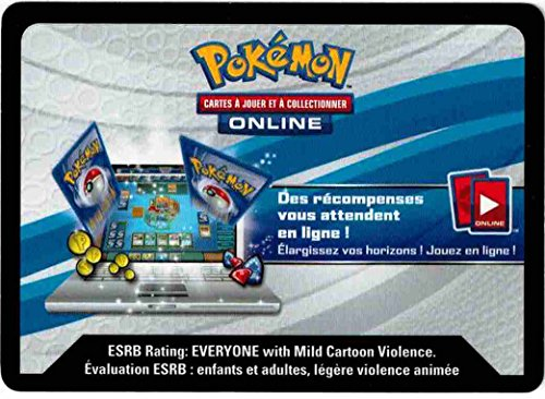 carte Pokémon FRCFEXMSW Coffret Box EX (Mega Laggron EX) Codes