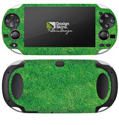 DeinDesign Skin kompatibel mit Sony PS Vita 1000 Aufkleber Folie Sticker Gras Rasen Grashalme