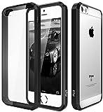 Elv Apple Iphone 5S Ultimate Protection, Slim Scratch / Dust Proof Hybrid Transparent