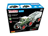Metal Construction Model Kit Tractor Farm Fendt Vario 313 with trailer 759 parts 1:32 real tools + picture instructions mechanical building set collectable educational toy boy age 12+ STEM Tronico