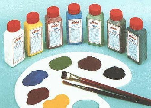 Heki 7107 Acrylfarbe Firnblau