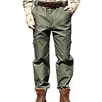 SEIBERTRON Impermeabile / Water Repellent Pantaloni M65 BDU tattici militari Verde 38