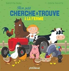 """Afficher """"Mon petit cherche & trouve à la ferme"""""""