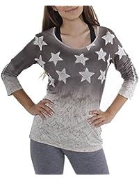 Key Largo - T-shirt de sport - Uni - Manches 3/4 - Femme